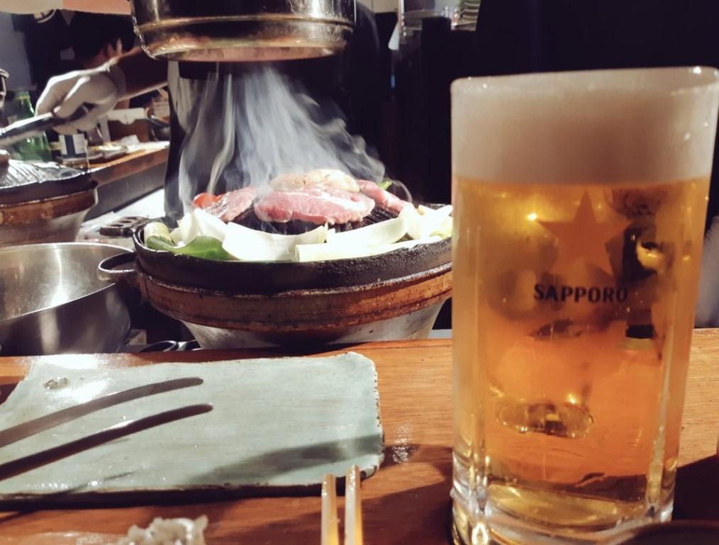 【韓国で初体験】ラム肉と流行りのアレ。