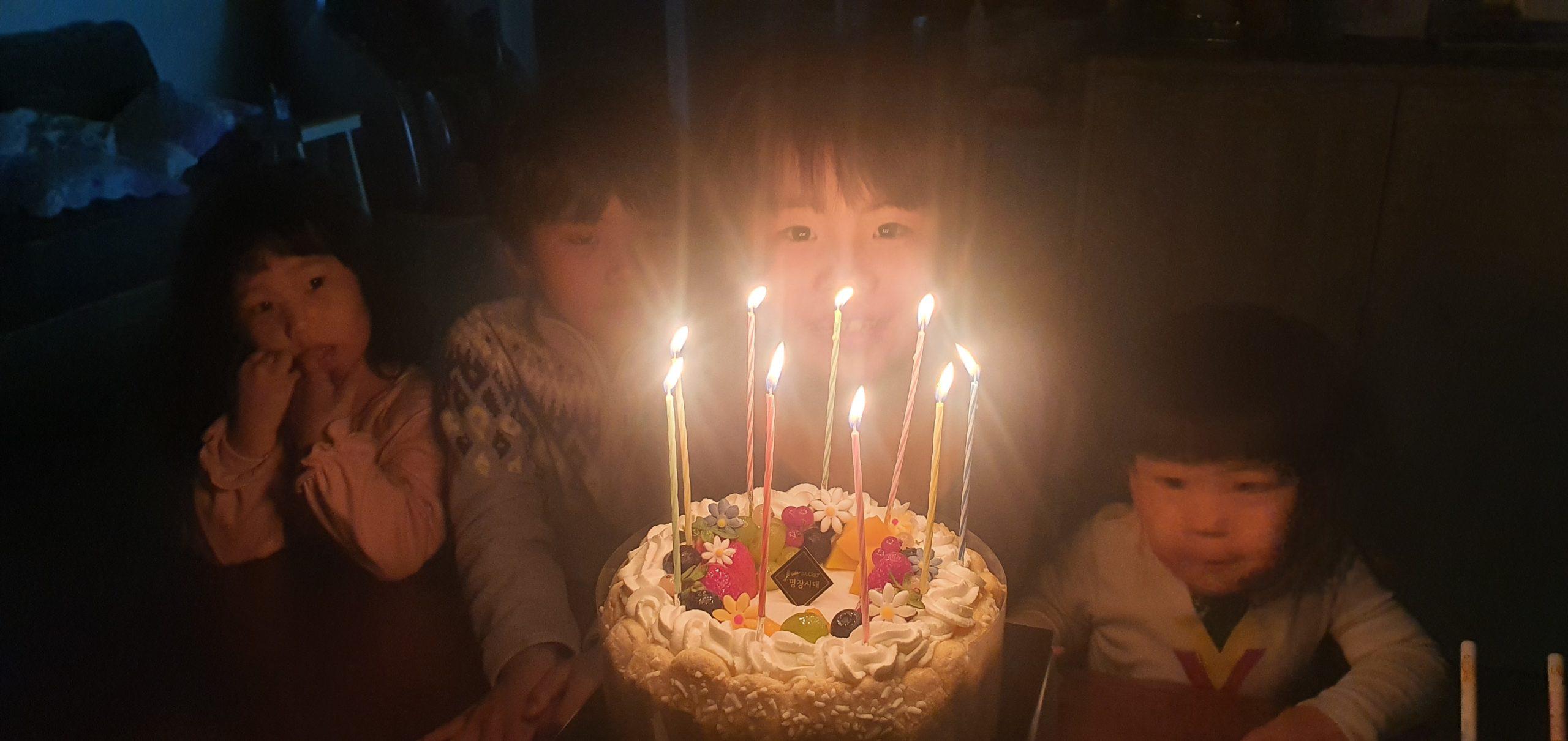 【我が家の灯】8歳になりました。